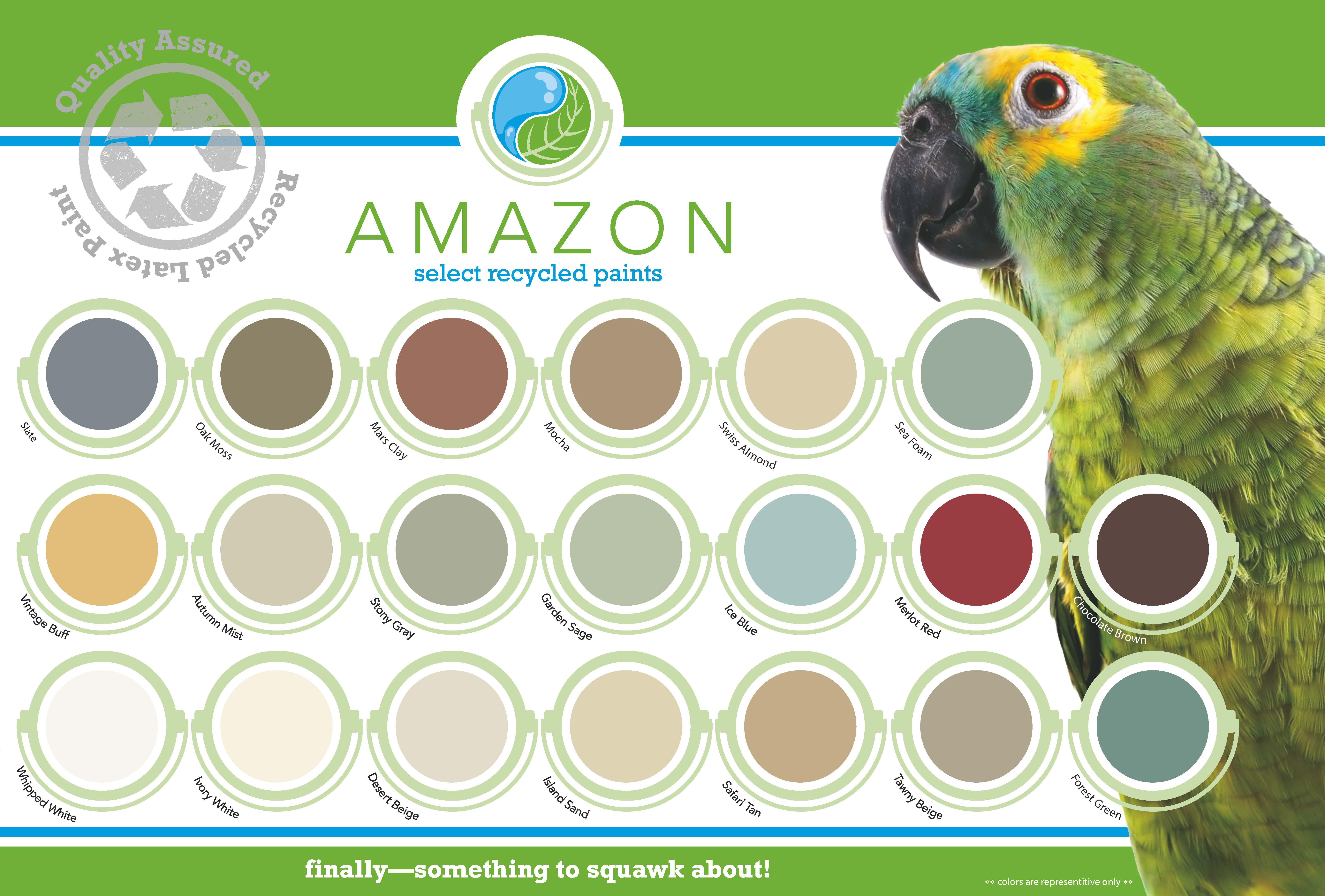 colors of california amazon