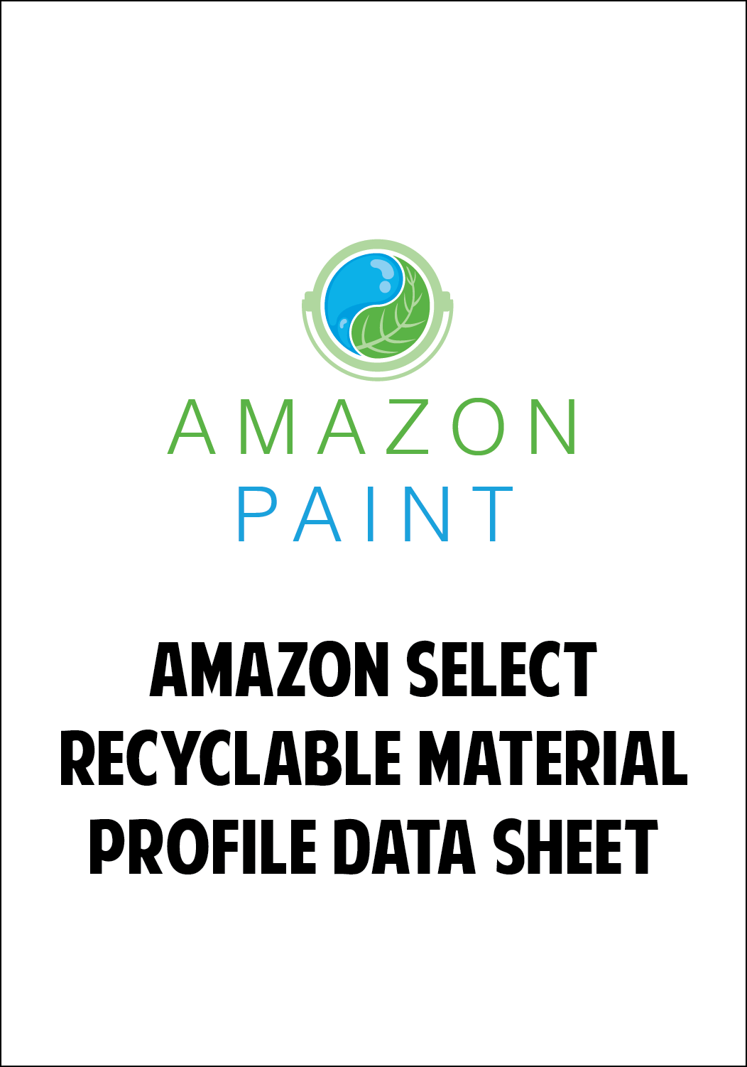 Amazon Select Recyclable Material Profile Data Sheet