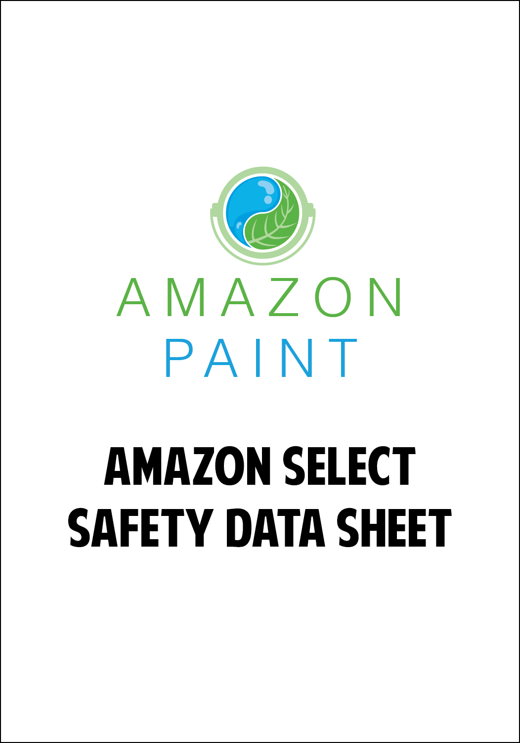 Amazon Select Safety Data Sheet
